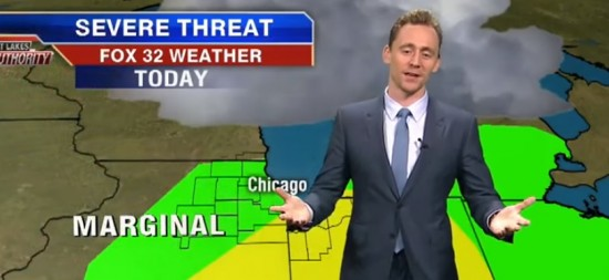 tom hiddleston weather