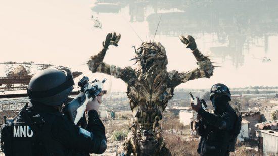 TriStar Pictures' sci-fi thriller DISTRICT 9.