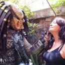 Cool Cosplay: Predator and Elpidia Carrillo