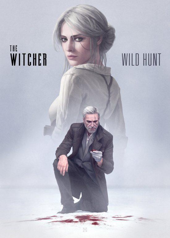 the_witcher___wild_hunt__modern__by_astoralexander-da77kyz