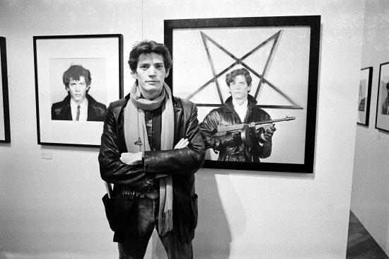 ROBERT MAPPLETHORPE EXHIBITION AT THE ICA, LONDON, BRITAIN - NOV 1983