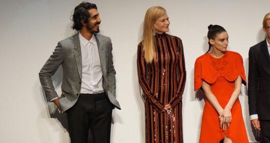 Dev Patel, Nicole Kidman, Rooney Mara at Lion