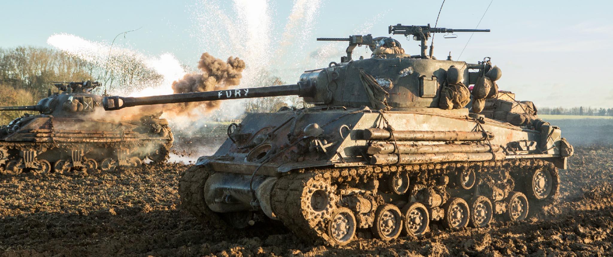 Что за танк был в фильме ярость