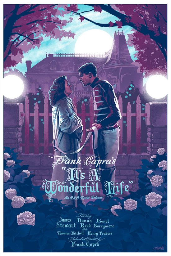 It S A Wonderful Life Quote In Book At End: Cool Art: It's A Wonderful Life By Barret Chapman