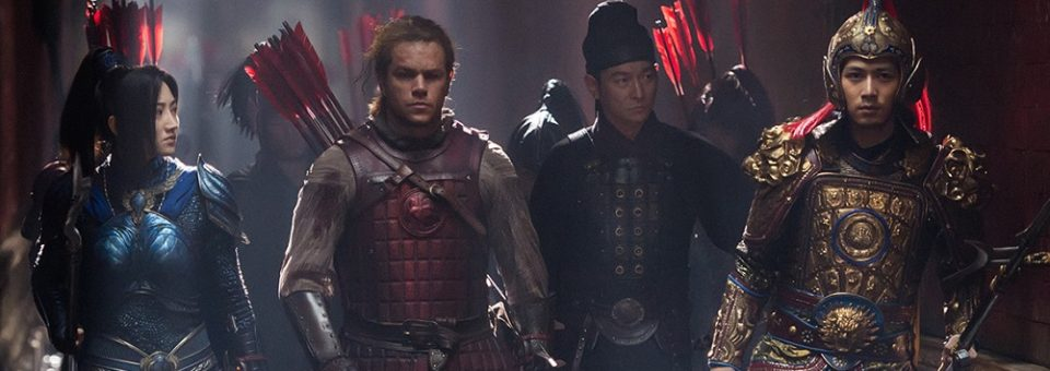 "Review: The Great Wall – ""There is something to be said for the films barmy ambition"""