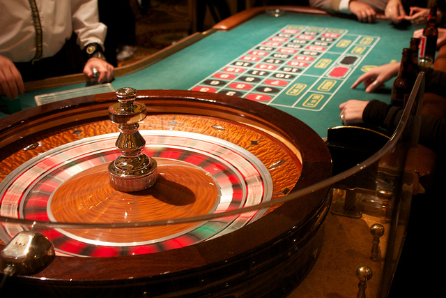 Roulette and the curious art of scene setting in the - Table tv a roulettes ...