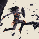 Cool Art: Wonder Woman poster by Doaly