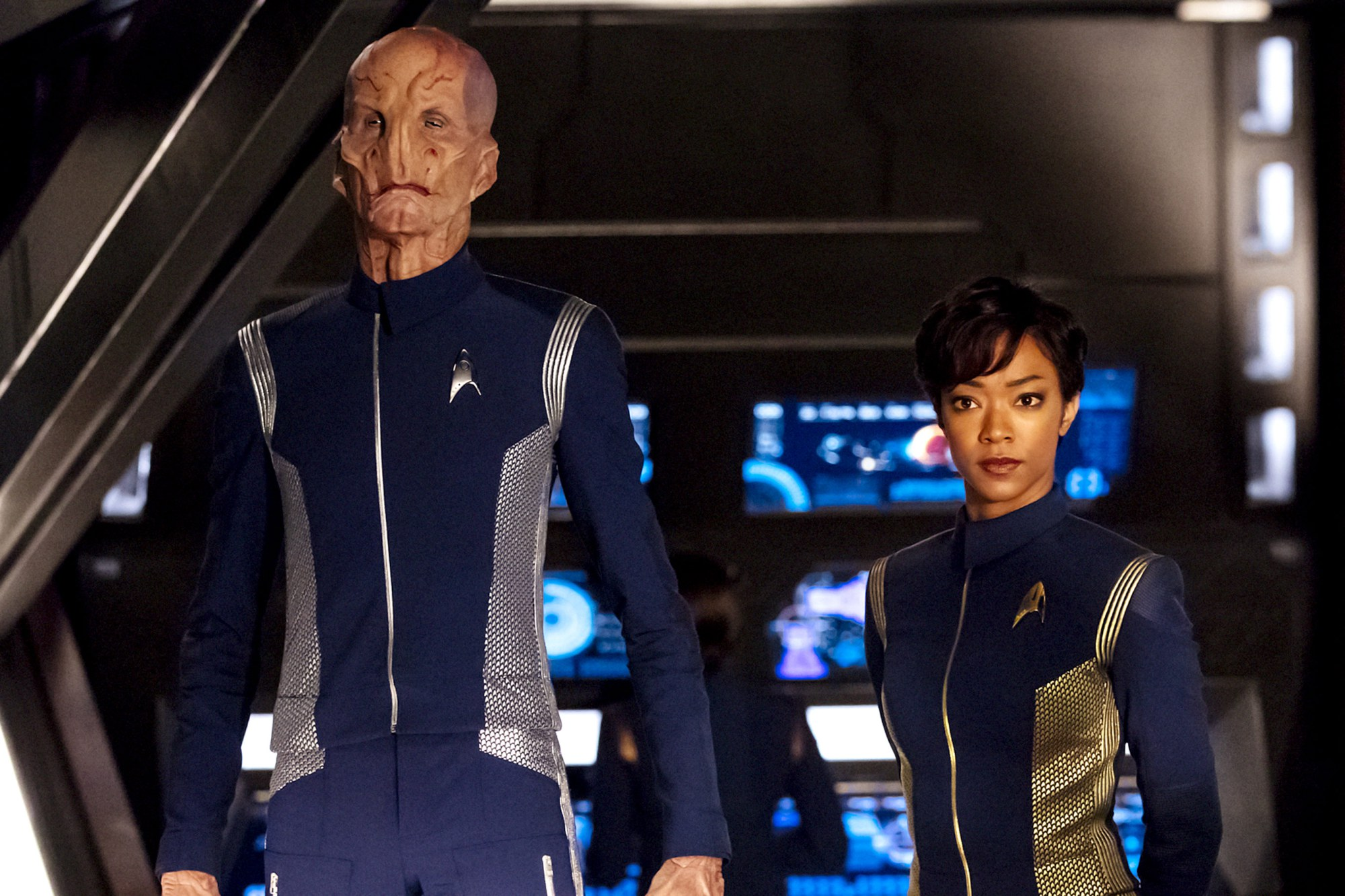Doug Jones talks about playing an alien in Star Trek: Discovery