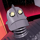 Cool Art: The Iron Giant by Craig Drake
