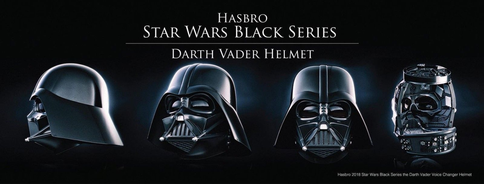 Hasbro Star Wars Black Series Darth Vader Electronic Voice Changer Helmet