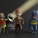 Cool Animated Short: Batman Dance Party