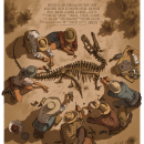 Cool Art: Jurassic Park by Claire Hummel