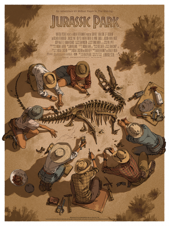 Cool Art Jurassic Park By Claire Hummel Live For Films