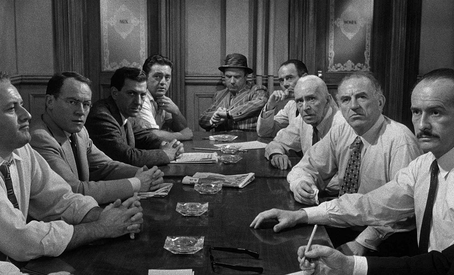 Video Essay 12 Angry Men A Lesson In Staging