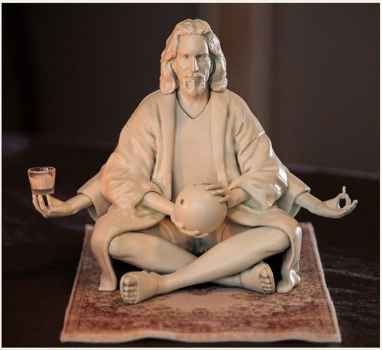 The Dude Abides In This Resin Statue That Would Really Tie