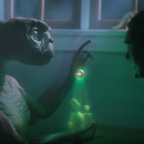 E.T. and Elliott are back together in a new commercial