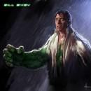 Cool Art: Bruce Lee is Spider-Man, Christopher Walken is Xavier & more