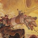 Cool Art: The Great Sandworm Race by Stephen Andrade
