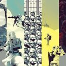 Cool Art: INFO•RAMA‏ – Star Wars, The Avengers & The Batmobile
