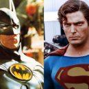 Christopher Reeve & Michael Keaton do the Batman v Superman trailer