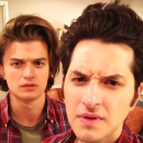 Steve from Stranger Things meets Jean-Ralphio from Parks & Recreation