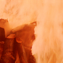 Who needs a Yule Log when you can watch Darth Vader burning for 5 hours!