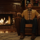 Watch Nick Offerman drink whisky & say nothing for 45 minutes