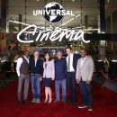 Steven Spielberg, Jordan Peele, Jason Blum, Karen Irwin, Ron Meyer, & Will Packer celebrated the opening of Universal Cinema
