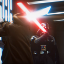 Watch a re-imagined version of Darth Vader and Obi-Wan Kenobi's lightsaber battle