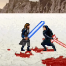 Cool Short: Luke Skywalker vs Kylo Ren 16 Bit