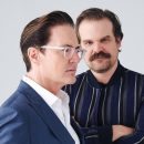 David Harbour and Kyle MacLachlan talk about acting, Stranger Things fan fiction and more