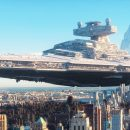 Star Wars on Earth! New video shows how big the ships really are
