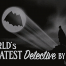 Tim Burton's Batman gets a 1940s style trailer