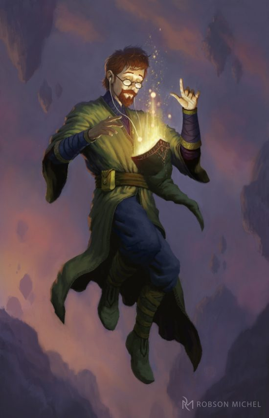 Cool Art Venger Dungeon Master and the kids from the