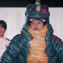 Cool Short – Patton Oswalt and Ben Schwartz wear monster suits in Michael Giacchino's Monster Challenge