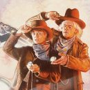 Cool Art: Back To The Future 3 by Drew Struzan