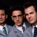 Watch the Ghostbusters record a TV commercial in this new outtakes video
