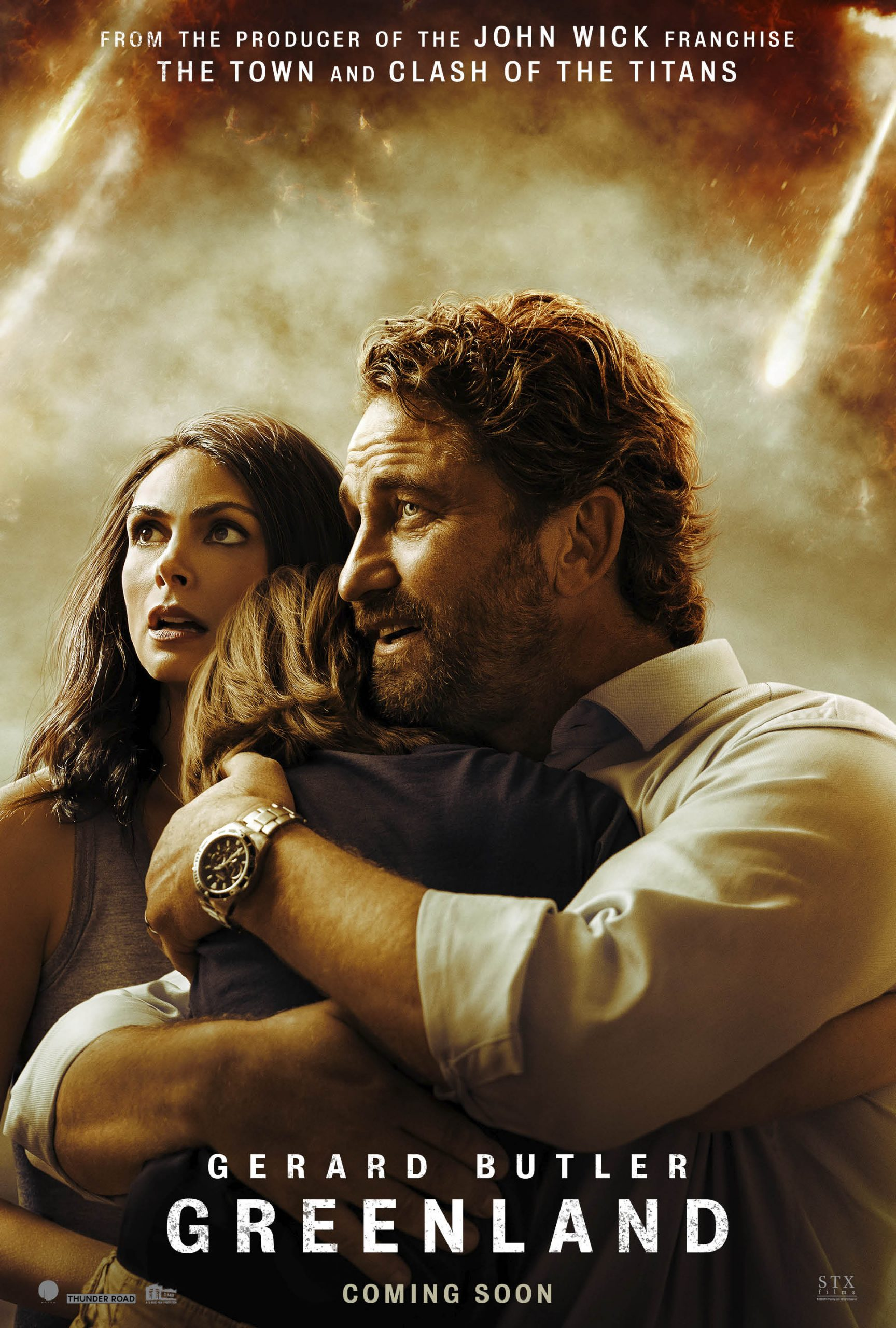 Gerard Butler tries to survive in the Greenland trailer