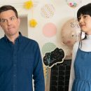 Ed Helms and Patti Harrison make a connection in the Together Together trailer