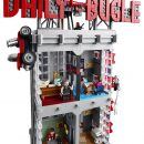 The LEGO Spider-Man Daily Bugle set is huge