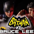 Cool Stop-Motion Animated Short: Batman vs Bruce Lee featuring The Crow