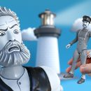 Cool Short: The Lighthouse (2019) but they're Action Figures